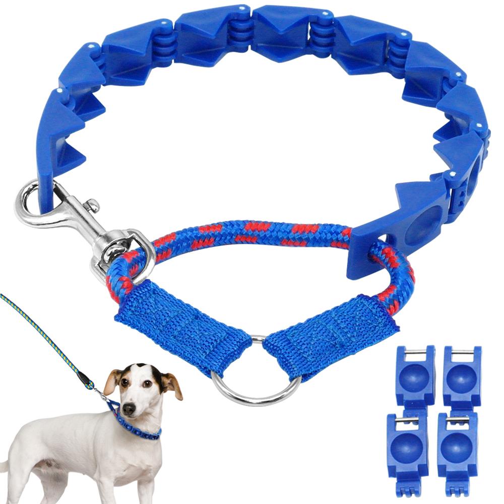 Pro-Training Pinch Dog Collars Dog Command Collar Adjustable with Extra Links for Medium Large Dog(China (Mainland))