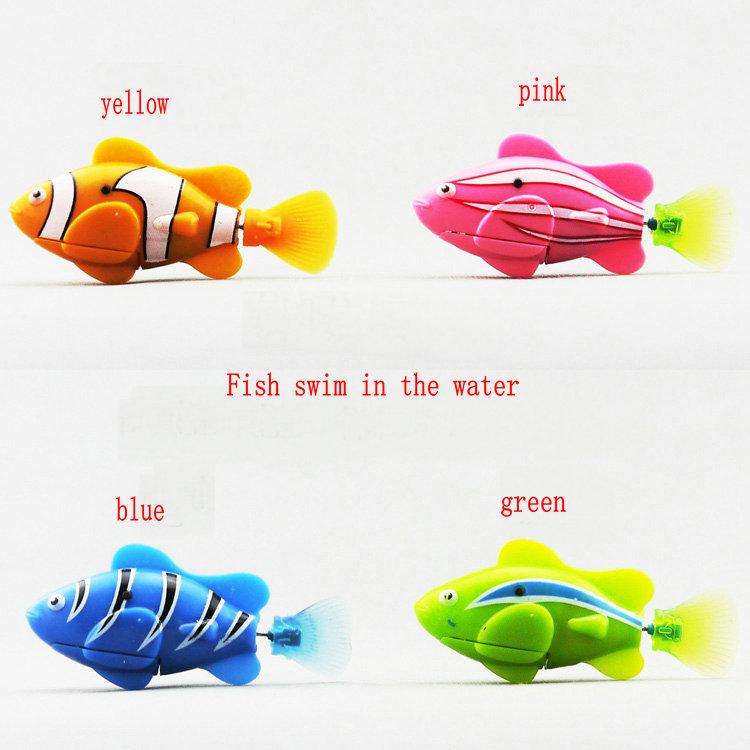 latest version anime figure model marine animal simulation model fish swim in the water Kids Halloween gifts(China (Mainland))