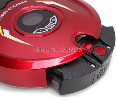 New Intelligent Robot Vacuum Cleaner Battery Operated Auto Charging Auto Cleaning and Mopping with Remote Control(China (Mainland))
