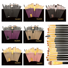 Free Shipping 20pcs Naked Makeup Brushes Kit Set Powder Foundation Eyeshadow Eyeliner Lip Eyebrow Brush Best Price(China (Mainland))