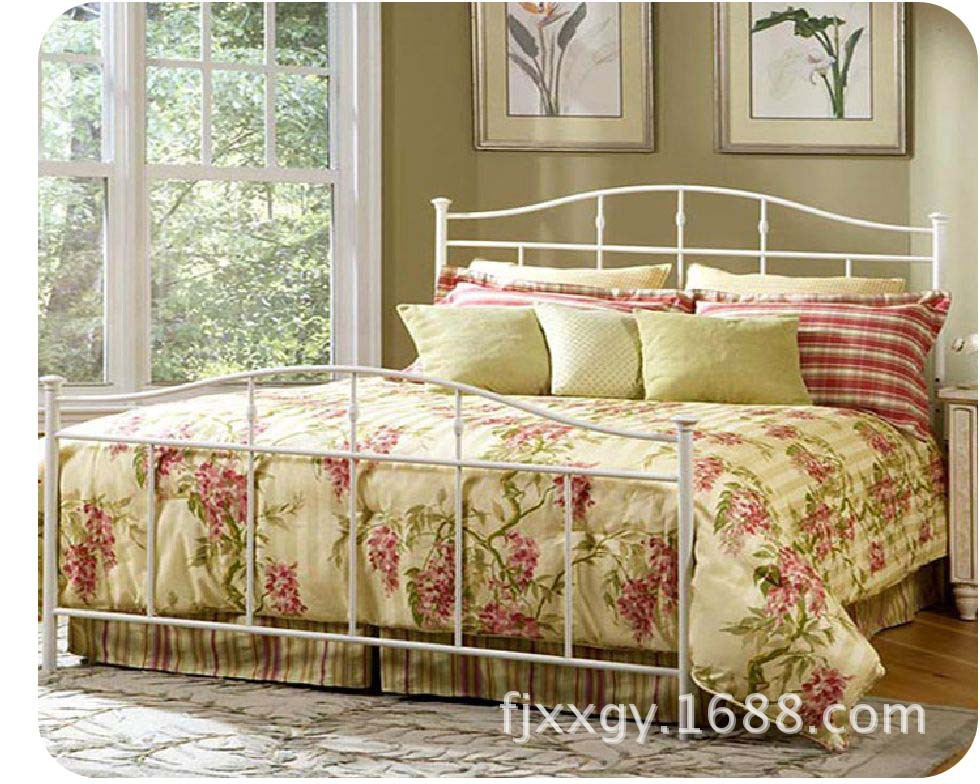 Star factory outlets Korean simple legendary classic Iron iron bed(China (Mainland))