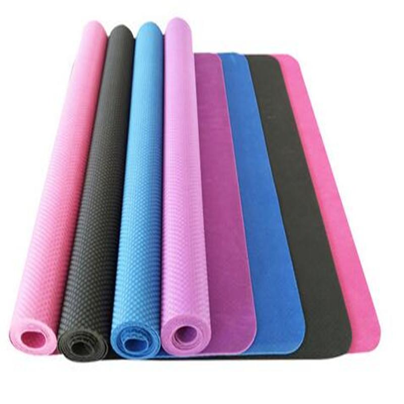 Natural rubber mat yoga mat travel 2 mm thin yoga mat Folding travel mat(China (Mainland))