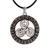 Celtic Pendant.Triskele Pendant.Triskelion Pendant.Triskele Pendant.Celtic Necklace.Celtic Jewelry.Triskele Necklace.Triskelion Necklace