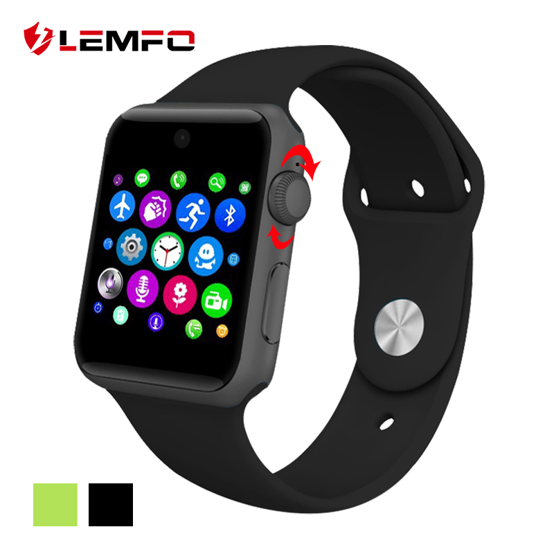 Lemfo LF07 Smart Watch Clock Sync Notifier With Sim Card sport smart health smartwatch For apple iphone huawei Android Phone(China (Mainland))