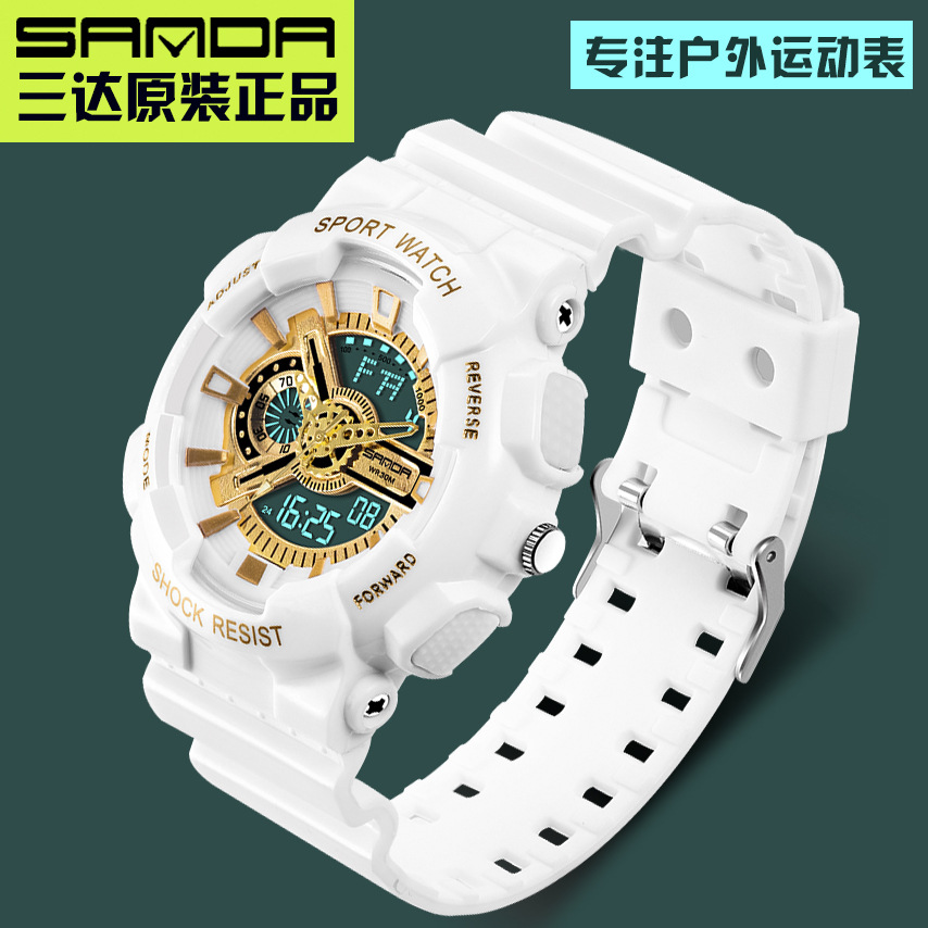 Original Luxury Brand 50m Waterproof Dive Sports Men Watch S Shock Resistant Digital quartz Women 95