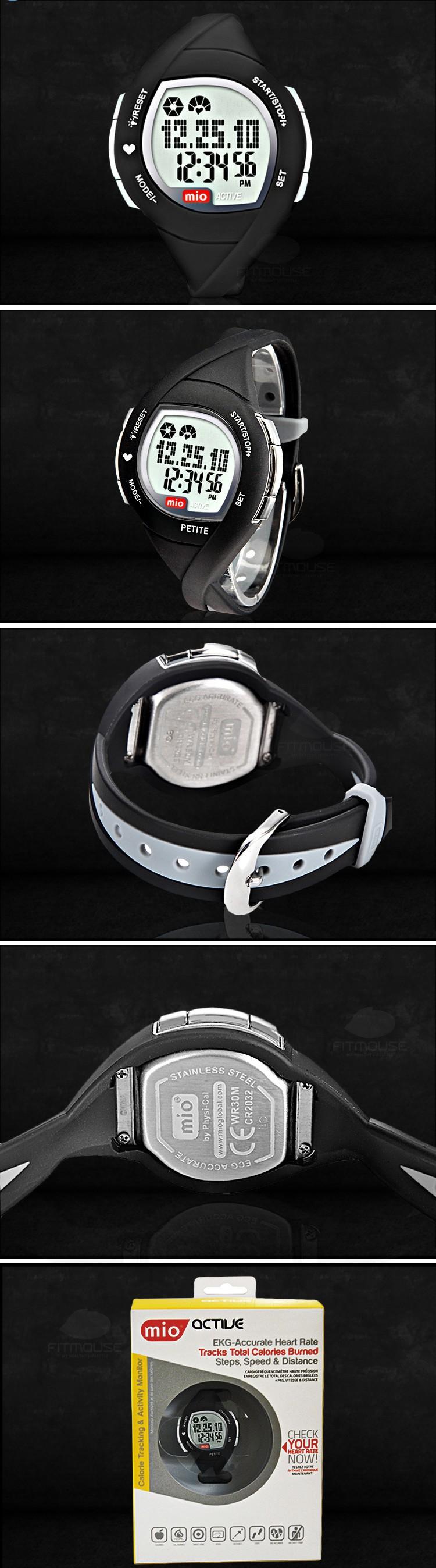 Mio Активных (Стиль Женщины) профессиональный без кардиопередатчик, палец сенсорный монитор сердечного ритма смарт-наручные часы