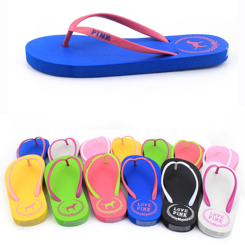 2015 NEW FASHION brand UNISEX flip flops Comfortable Summer Beach platform slippers women casual sandals(China (Mainland))