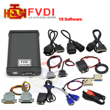Hot FVDI ABRITES Commander Full Version with 18 software activated for VAG for BMW For Opel For Toyota For Ford etc 18 software(China (Mainland))