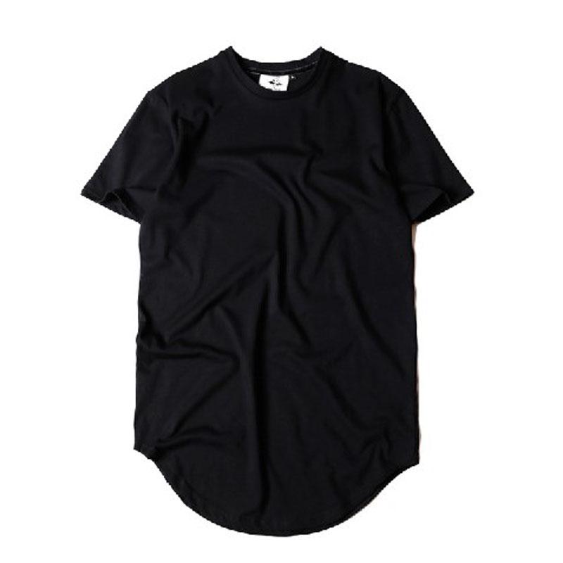 Extended Oversized Elongated Hipster Kanye West Hip Hop T Shirt Swag Fashion Tyga Last Kings Camisetas Hombre(China (Mainland))