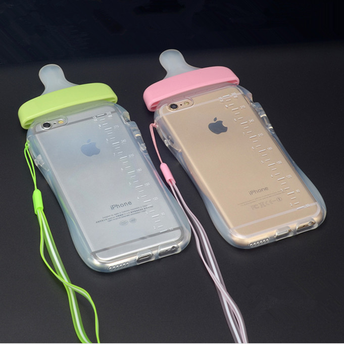 phone cases lovely newest simulation baby milk bottle. Black Bedroom Furniture Sets. Home Design Ideas