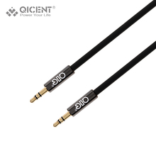 Buy QICENT 3.5AUX Coiled Cable jack Male Male Universal Gold-Plated Audio 2M Cable iPad phone Car Speakers via Aux Audio Port for $5.98 in AliExpress store