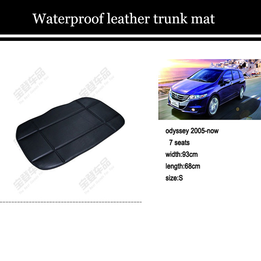 wholesales leather trunk mat for honda series fit/spirior/crosstour/city/odyssey/cr-v<br><br>Aliexpress