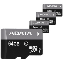 100% Original ADATA Class 10 Micro SD Card 16GB 32GB 64GB Memory Card Trans Flash TF Card Free Shipping