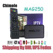 5 unids Sistema Linux 2.6.23 Mag250 IPTV Set Top Box CAJA IPTV MAG STi7105 RAM 256 Mb Procesador de Calidad Superior 250