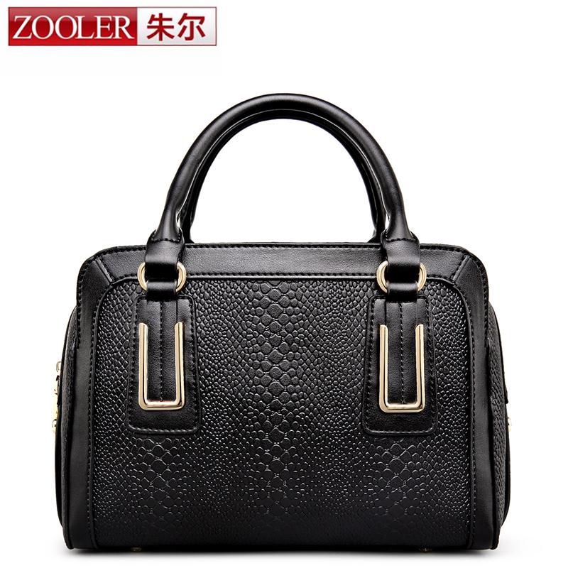 2016 new!ZOOLER bags boston pillow women famous brands superior cowhide leather women  handbag fashion  bolsas tote #2635<br><br>Aliexpress