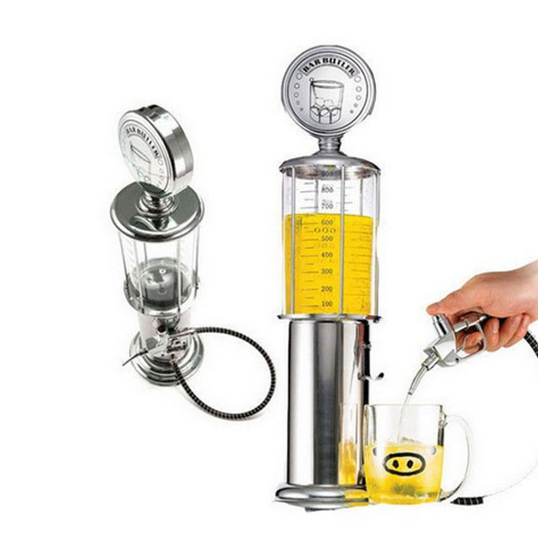 Creative Wine Beer Dispenser Pourer Gas Stastion Cocktail Drinks Pouring Measure Machine(China (Mainland))