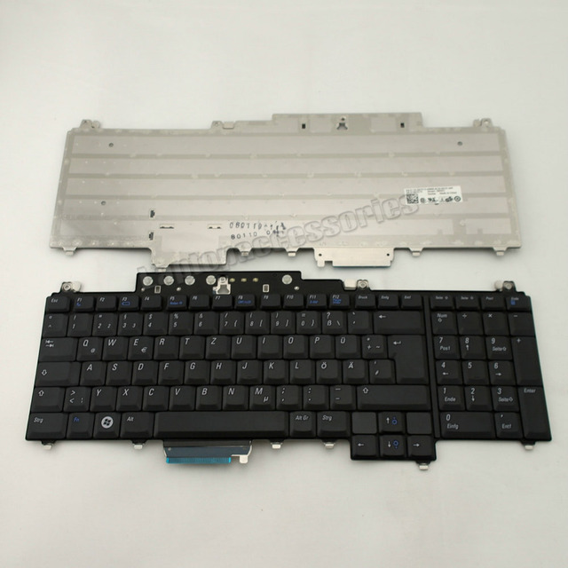 NEW Laptop Keyboard for Dell Vostro 1700 For Inspiron 1720 Keyboard German Tastatur Accessories Replacement(K636)