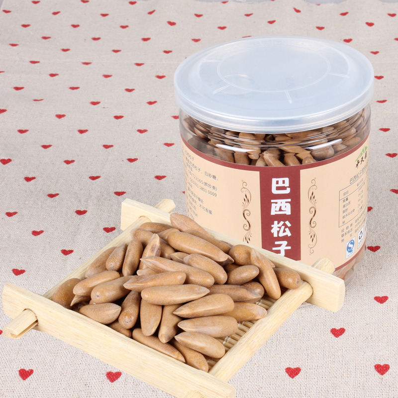 Brazil pine nut shell hand stripping new Pakistan imported cans for 1 pounds of snacks<br><br>Aliexpress