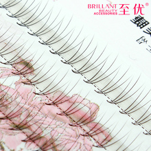 Buy wholesale New Natural Long Black Individual False Eyelashes Eye Lash Extension Makup Tool 90 Knots 6 8 10 12 MM C for $2.79 in AliExpress store