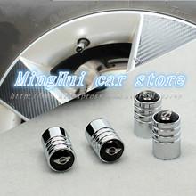 MINI MiniCooper R55 Car emblem Chrome Metal Wheel Tire Valve Caps Air Stem Cover Auto accessories Free Shipping(China (Mainland))