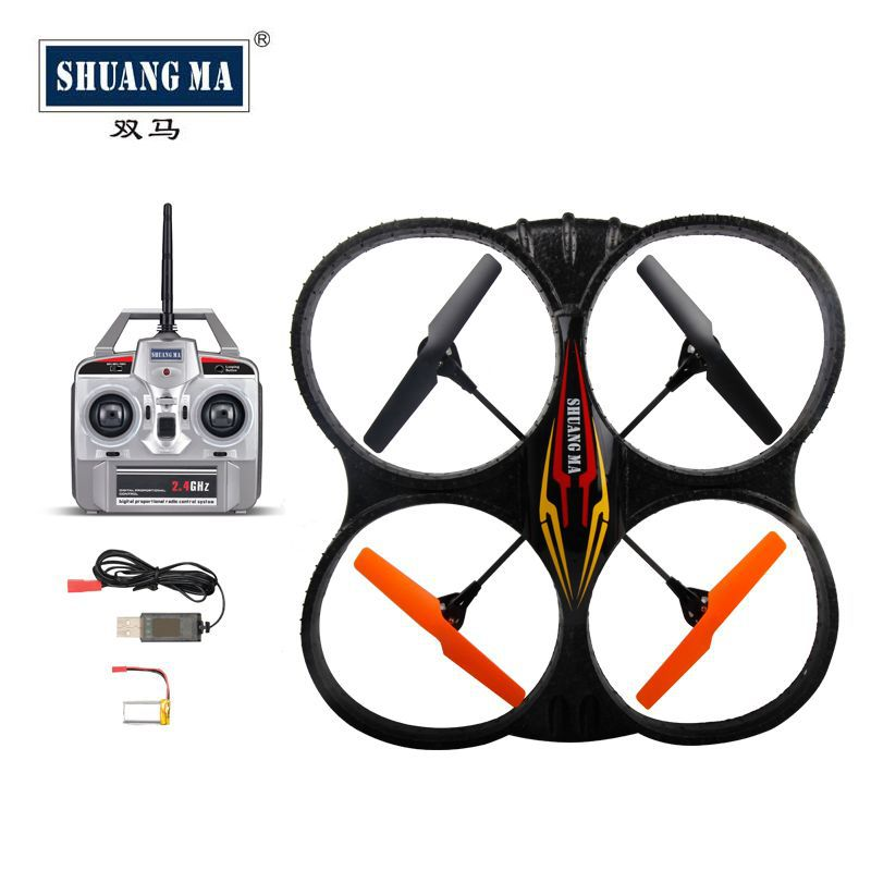 SHUANGMA 2.4G 4 channel four axis 9135 ultra large 34cm RC aircraft 4CH R/C Bee Helicopter(China (Mainland))