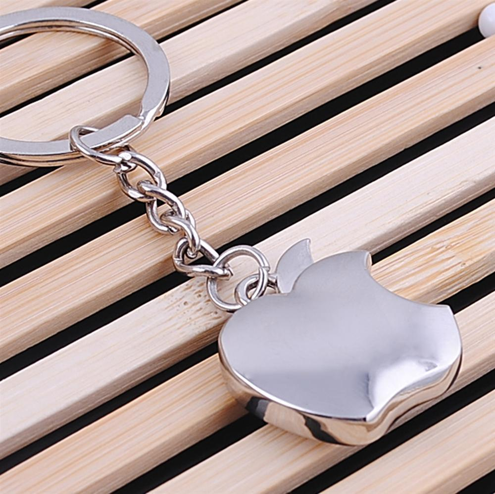 Гаджет  Shiny apple key chain         Personality key chain             High-grade alloy key chain None Ювелирные изделия и часы