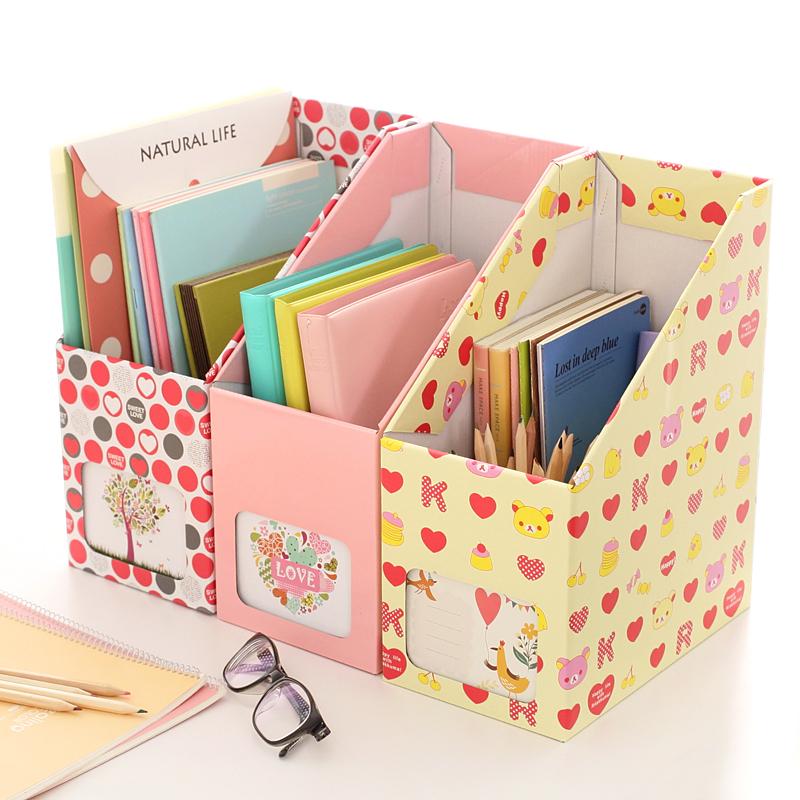 Magazine storage boxes cardboard promotion shop for for Diy magazine box