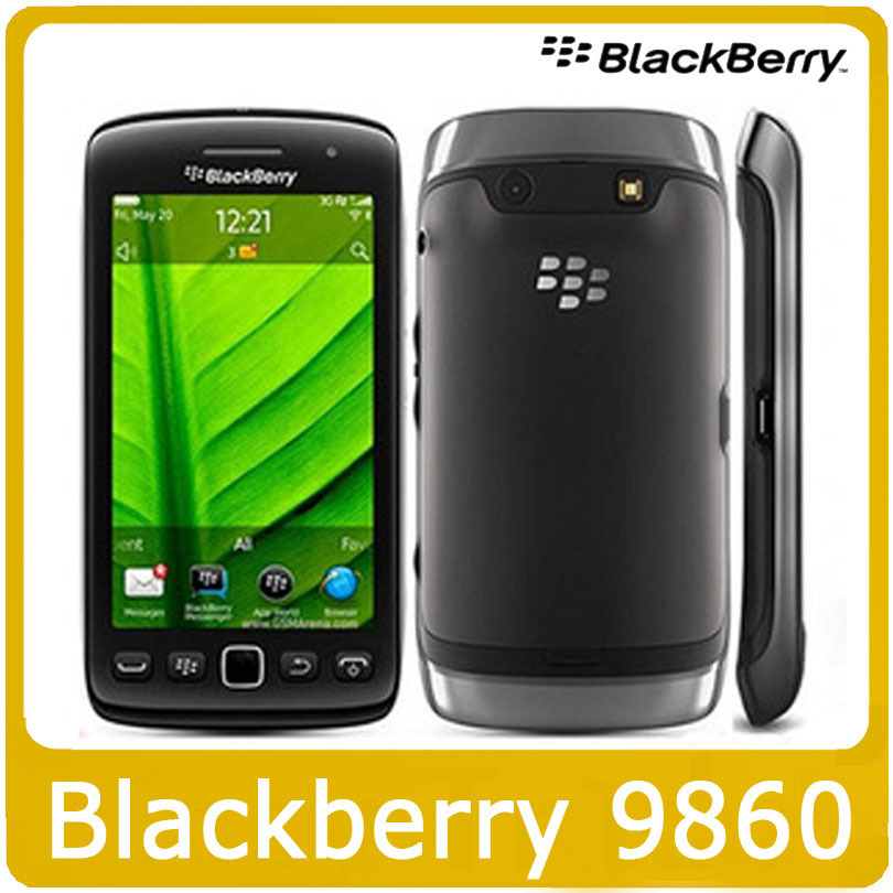 "Original 9860 Blackberry Torch 9860 CellPhone,3.7"" TouchScreen Camera 5.0MP,WiFi,GPS 3G Mobile Phone Refurbished(China (Mainland))"