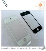 10 шт./лот сенсорный экран стекло для iPhone 4 4 г переднее стекло объектива ремонт замена черный белый
