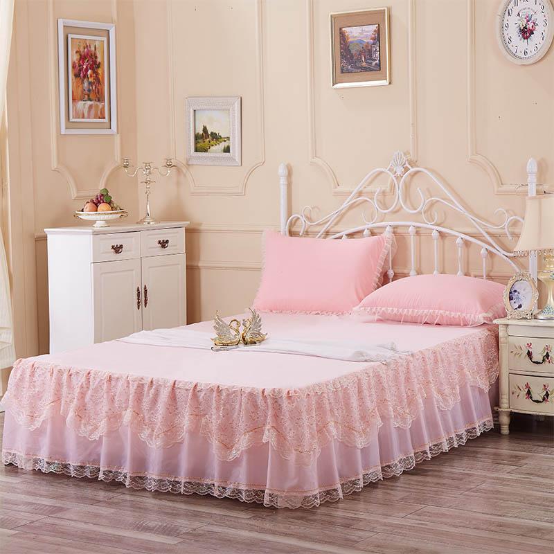 dentelle lit couvre achetez des lots petit prix dentelle. Black Bedroom Furniture Sets. Home Design Ideas