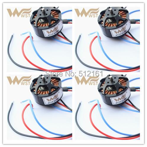 W4114 brushless motor balancing 320KV WESTER WST PRO T810 960 1050 1200 Quadcoper/Hexrcopter/Multirotor 4/6/8axis UVA - westerrc store