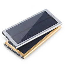 Ultrathin Portable Solar Power Bank 10000mAh External Battery Charger for all Mobile Phone and others