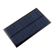 6V 1W Solar Power Panel Solar System Module DIY For Light Battery Cell Phone Toys Chargers Drop Shipping(China (Mainland))