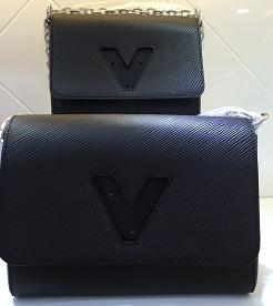 2015 new fashion women shoulder bag the highest grade TWIST MM M50282 genuine EPI leather women chain shoulder bag TWIST PM(China (Mainland))