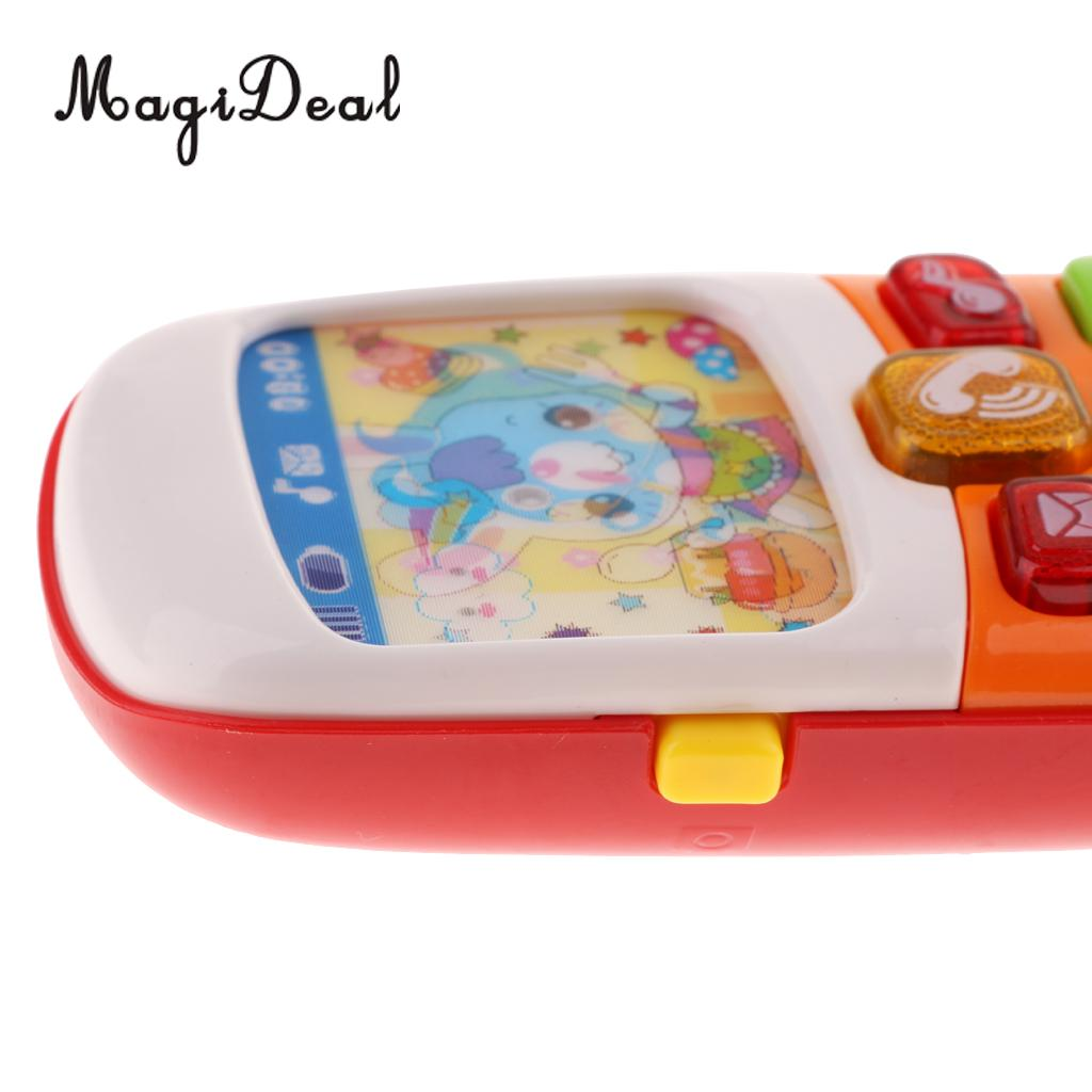 Electronic Toy Phone For Children Baby Mobile Elephone Educational Learning Toys Music Machine Toys