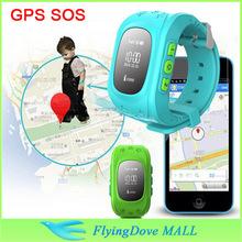 Children GPS Tracker Watch SOS Emergency Anti Lost Smart Mobile Phone App Bracelet Wristband kids gps tracker watch