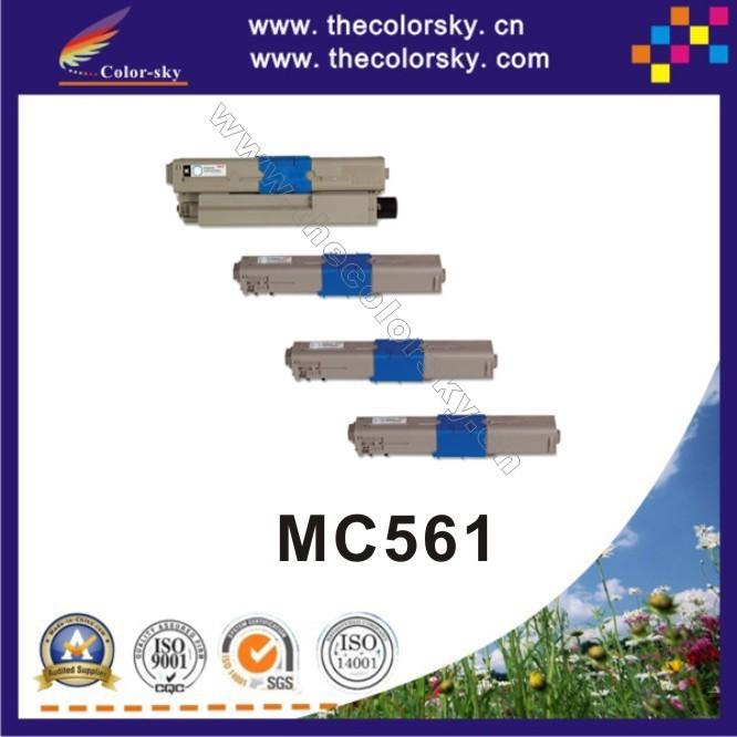 (CS-OMC562) Color compatible toner printer cartridge for OKI MC562 M C562 44973508 44469722-44469724 (7k/5k pages) free FedEx<br><br>Aliexpress