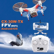Cheerson CX-30W-TX With 2.4Ghz Transmitter HD Camera FPV drone With Wifi Live Video Transmission