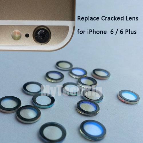For Apple iPhone 6 or 6 Plus Camera Lens Original Sapphire Crystal Single Glass Without Frame + 3M Sticker Replace Cracked Lens(China (Mainland))