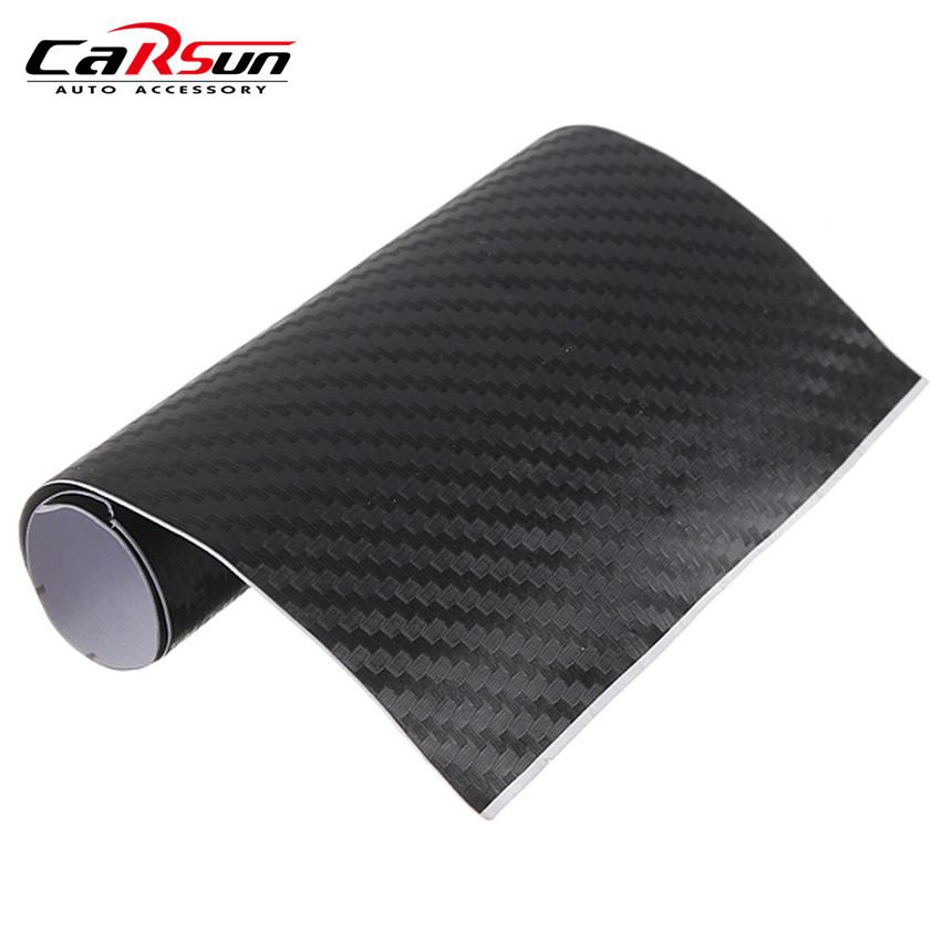 152*30 cm 3D Carbon Fiber Vinyl Film Carbon Fibre Sticker Car Sticker 3D Carbon Wrap Decorative Film Paper(China (Mainland))