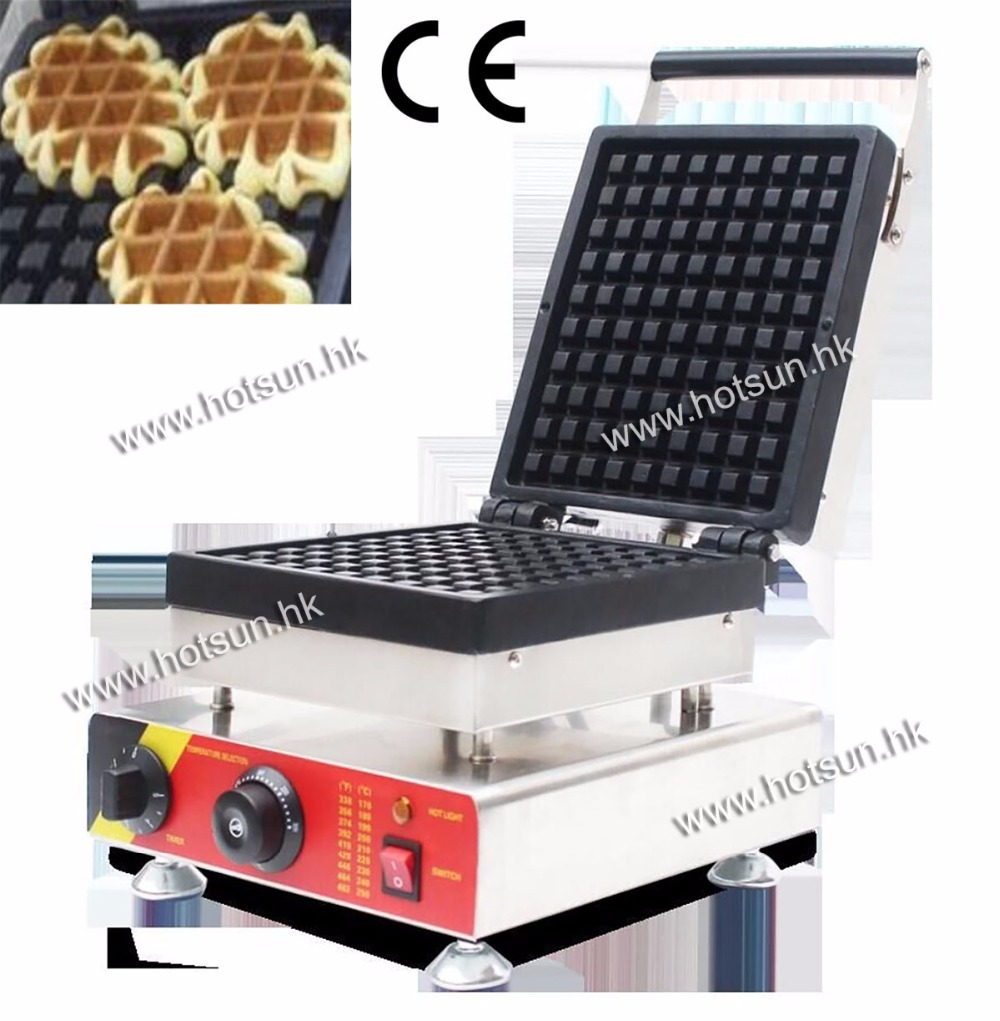 Commecial Use Non-stick 110v 220v Electric Belgium Liege Waffle Baker Maker Machine Iron<br><br>Aliexpress