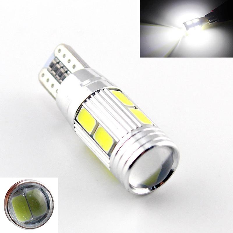 2X car styling Car Auto LED T10 194 W5W Canbus 10 smd 5630 LED Light Bulb No error led light parking T10 LED Car Side Light(China (Mainland))