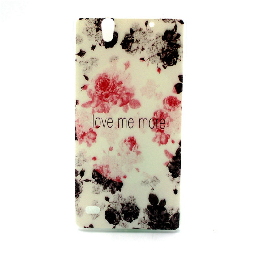 Case Sony Xperia C4 Dual E5306 E5333 Stylish Painting Soft Silicone Phone Cover Clear Ultra Thin Transparent TPU Coque  -  Fantastic baby! store