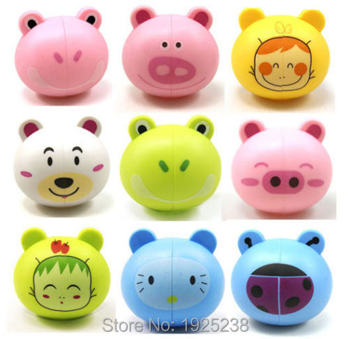1 xCute Lovely Suction Cup Mount Cartoon Animal Head Toothbrush Holder stand(China (Mainland))