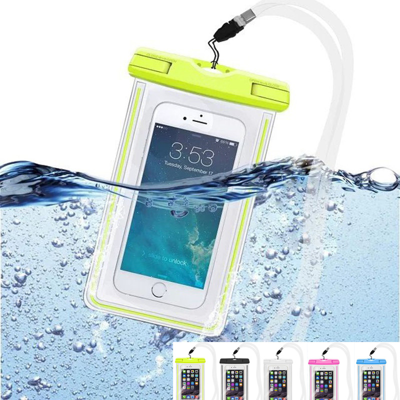 Water Proof Bags WaterProof Pouch Mobile Phone Case For HTC One M7 M8 M9 A9 X9 M10 Desire 310/300/600 826 For Huawei P6 P7 P8 P9(China (Mainland))