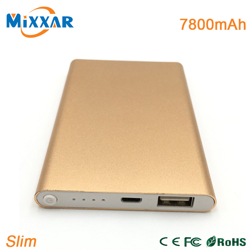 ZK90 Slim External Battery Power Bank 7800mAh Universal External Battery Portable Charger Powerbank For all mobile(China (Mainland))