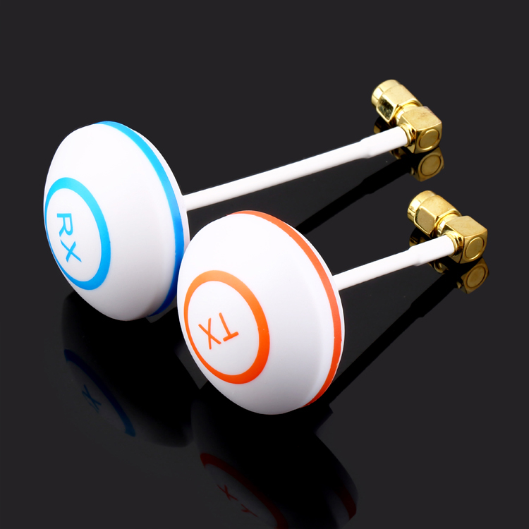 Гаджет  Free Shipping 2 pcs/ lot Circular Polarized 5.8G Mushroom Antenna for 5.8 GHz 2.4GHz Bifrequency for FPV TX RX RP-SMA None Игрушки и Хобби