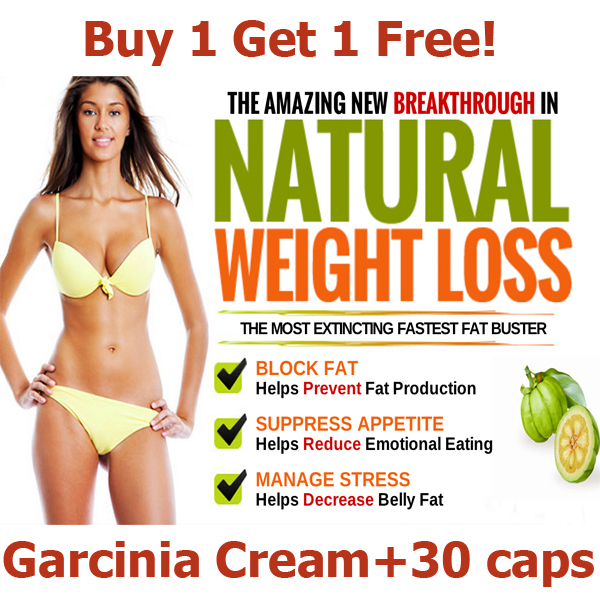 Buy 1 get 1 free effective weight loss creams, slim & anti-cellulite creams, diet pills, Garcinia cambogia extract free shipping(China (Mainland))