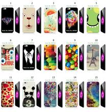 Mobile Phone Case Hot 1pc Bear Heart Ballon Hybrid Design Protective White Hard Case For iphone 6/6s plus Free Shipping