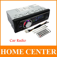 Car Multi-Functional Player New FM and MP3 Stereo Radio Receiver Aux with USB Port and SD CardSlot(China (Mainland))